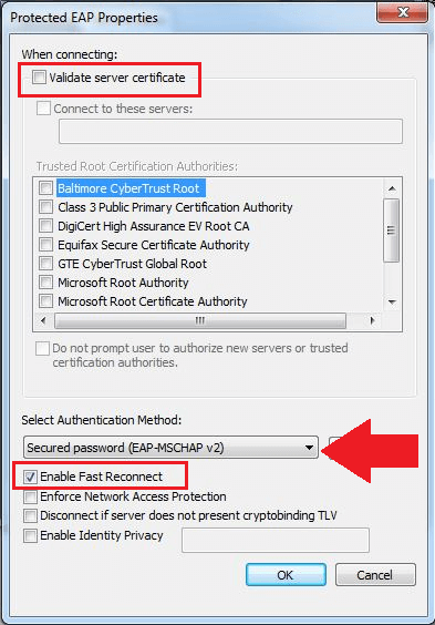 Connecting Windows PC's to WCGSCHOOLS network (via WIFI)