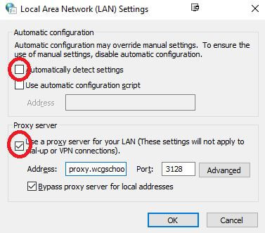 How to manually change your Proxy settings in Google Chrome